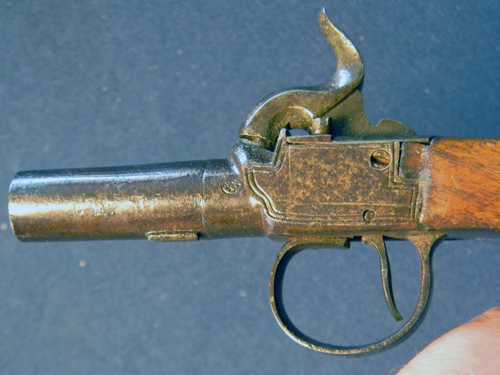 Bonhams : A Belgian 410 2¾in folding hammer gun,
