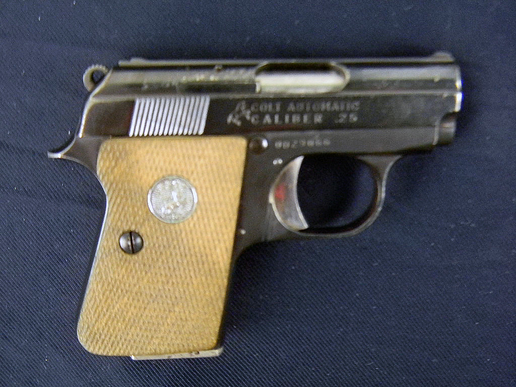 vintage colt pistols