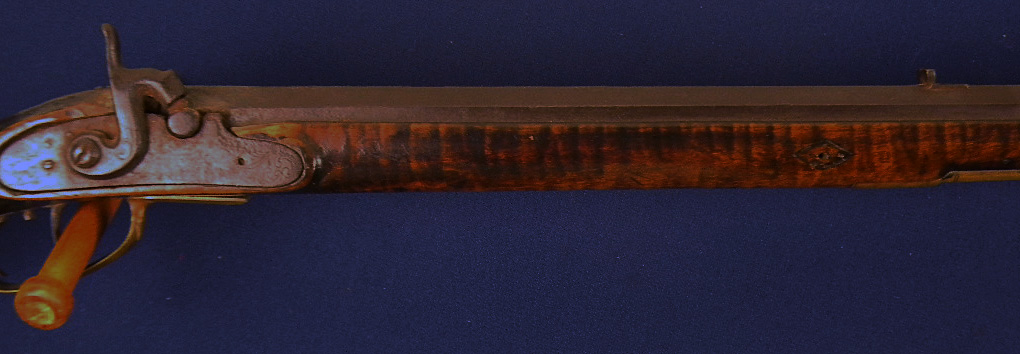 Marker Scarce Maryland Signed James Ky Rifle 46 For Sale