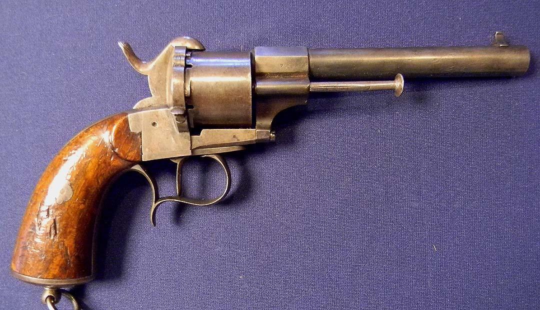 French 1858 Navy pattern revolver -