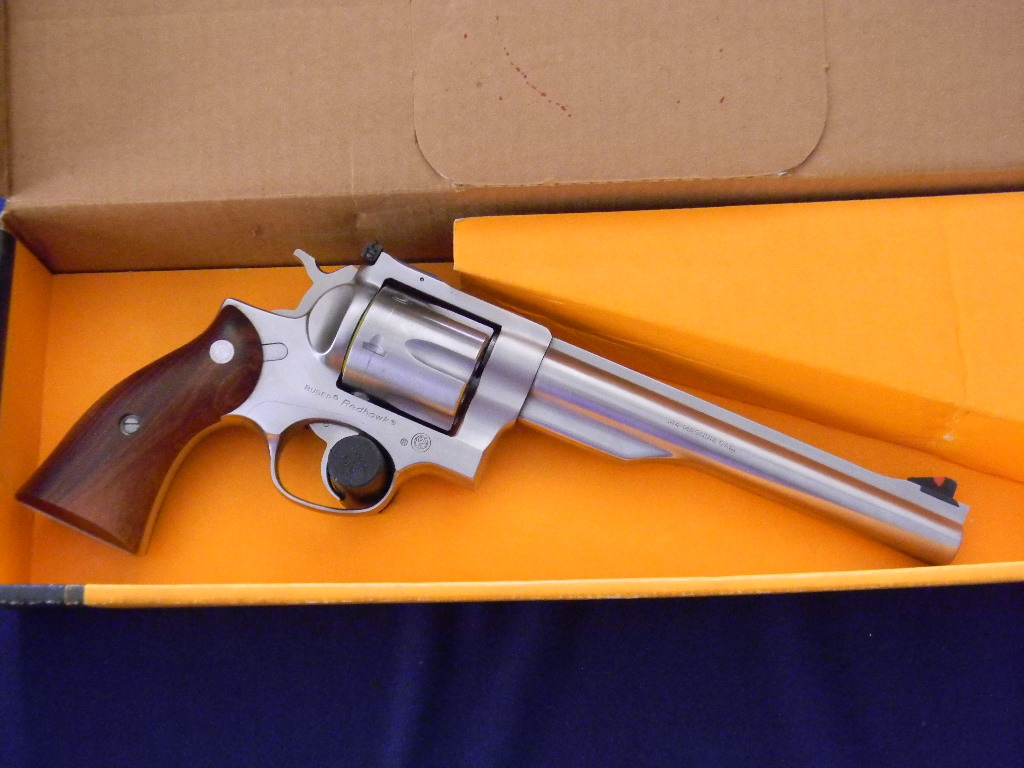 Ruger Fine Redhawk Stainless .44 Magnum Revolver For Sale ...