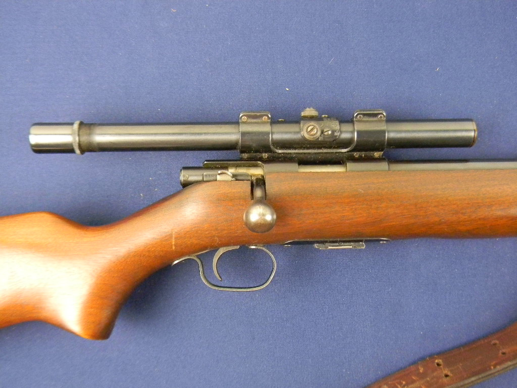 For Sale Winchester Model 69 A: Winchester Fine Vintage 69a .22 Rifle W/Scope For Sale At